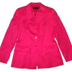 Escada Blazer Pink Wool Button Up Jacket